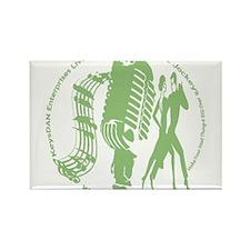KeysDAN Logo (Cactus) Rectangle Magnet