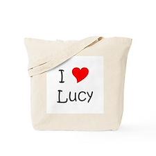 Unique I love lucy Tote Bag