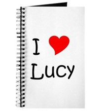Cute I love lucy Journal