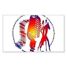 KeysDAN Logo (Color Target) Rectangle Decal