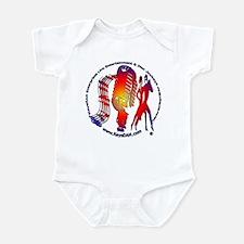 KeysDAN Logo (Color Target) Infant Bodysuit