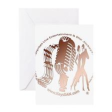 KeysDAN Logo (Copper Tube) Greeting Card