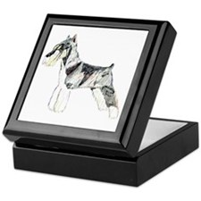 Mini Schnauzer Keepsake Box