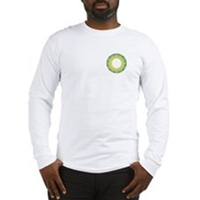 F/B Green Irish Knot Long Sleeve T-Shirt