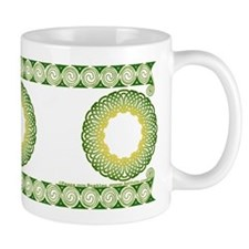 Green Irish Knot with Border Mug