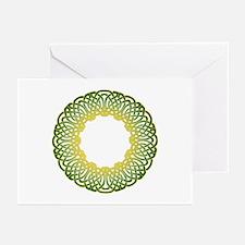 Green Irish Knot Greeting Cards (Pk of 10)