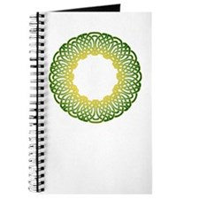 Green Irish Knot Journal