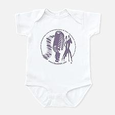 KeysDAN Logo (Purple Clouds) Infant Bodysuit