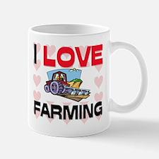 I Love Farming Mug