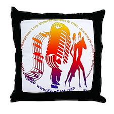 KeysDAN Logo (Rainbow) Throw Pillow
