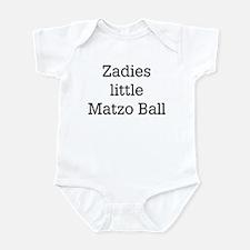 Zadies Matzo Ball Infant Bodysuit