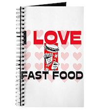I Love Fast Food Journal