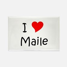 Cool Maile Rectangle Magnet