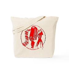 KeysDAN Logo (Red) Tote Bag