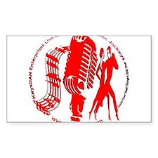 KeysDAN Logo (Red) Rectangle Decal