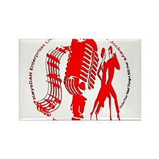 KeysDAN Logo (Red) Rectangle Magnet