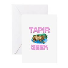 Tapir Geek Greeting Cards (Pk of 10)