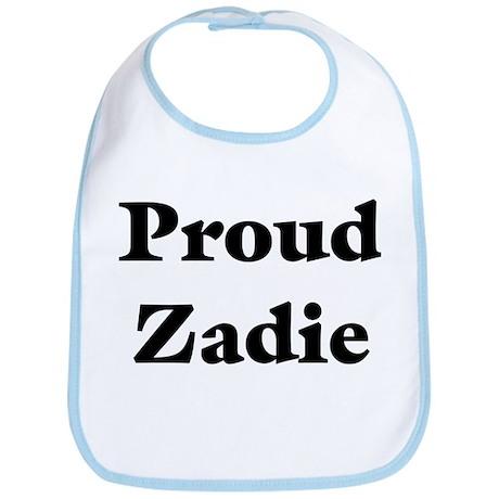 Proud Zadie Bib
