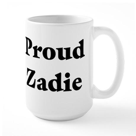 Proud Zadie Large Mug
