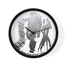 KeysDAN Logo (Rivet) Wall Clock