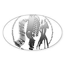 KeysDAN Logo (Rivet) Oval Decal