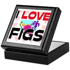 I Love Figs Keepsake Box