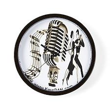 KeysDAN Logo (Sepia Tone) Wall Clock