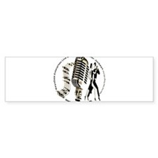 KeysDAN Logo (Sepia Tone) Bumper Bumper Sticker