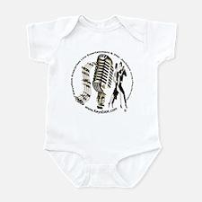 KeysDAN Logo (Sepia Tone) Infant Bodysuit
