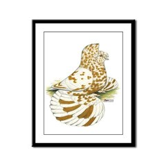 English Trumpeter Yellow Spla Framed Panel Print