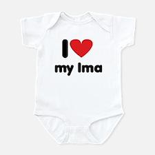 I Love my Ima Infant Bodysuit