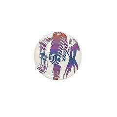 KeysDAN Logo (Sunset Sky) Mini Button (10 pack)