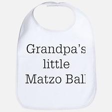 Grandpa's Matzo Ball Bib