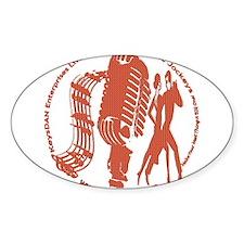 KeysDAN Logo (Toy) Oval Decal