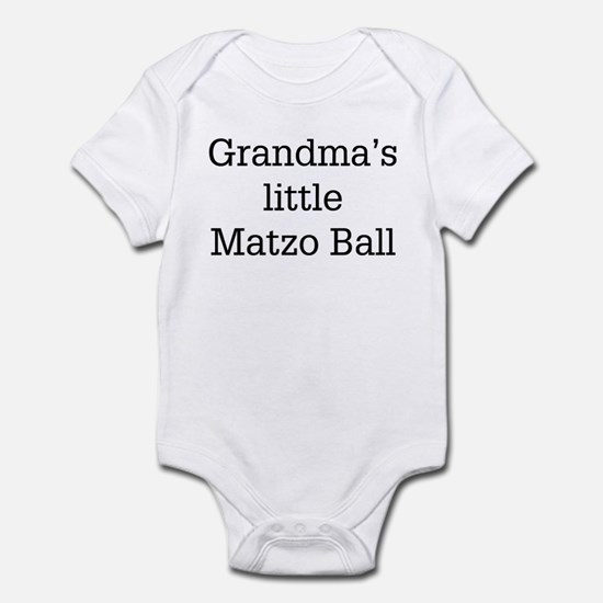 grandma's matzo ball Infant Bodysuit