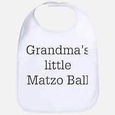 grandma's matzo ball Bib