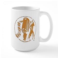 KeysDAN Logo (Woodgrain) Mug