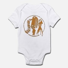 KeysDAN Logo (Woodgrain) Infant Bodysuit