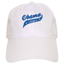 Obama Biden Blue Swoosh Baseball Cap