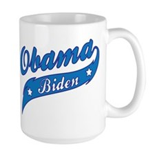 Obama Biden Blue Swoosh Mug