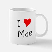 Cute I love mae Mug