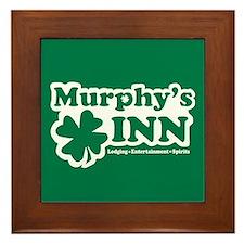 Murphy's INN Framed Tile