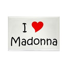 Cute Madonna Rectangle Magnet
