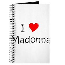 Cute Madonna Journal
