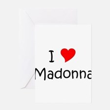 Cute Madonna Greeting Card