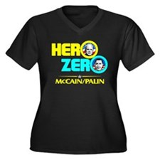 Hero Zero - Anti Obama Women's Plus Size V-Neck Da