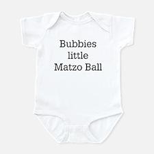 Bubbies Matzo Ball Infant Bodysuit