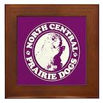 North Central Prairie Dogs Framed Tile