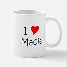Cute I love macie Mug