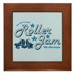 Roller Jam Framed Tile
